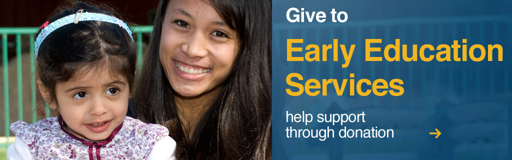 Give to Early Education Services, help support children of UC Santa Cruz students